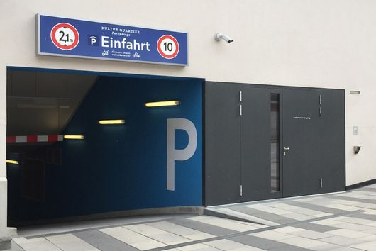 Parking garage arte hotel Kufstein