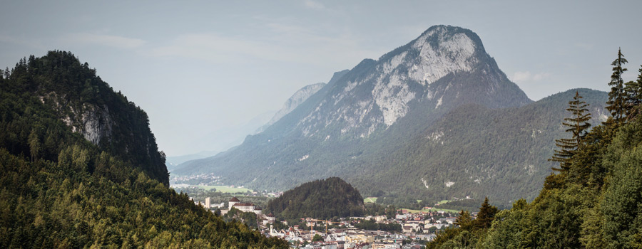 Kufsteinerland with view of Kufstein and Pendling